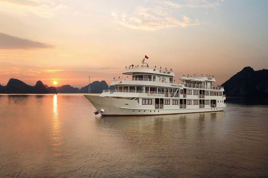 du thuyen athena cruises halong bay