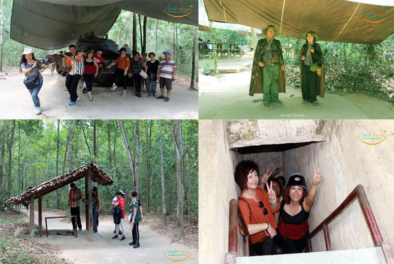 Cu Chi Tunnel- Ho Chi Minh
